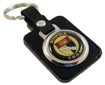 rectangle keyfob round decal